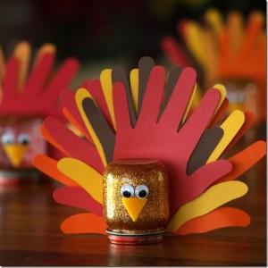 turkey mason jar
