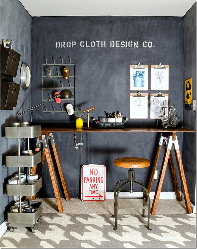 chalkboard-wall-sawhorse-desk-craft-space-5