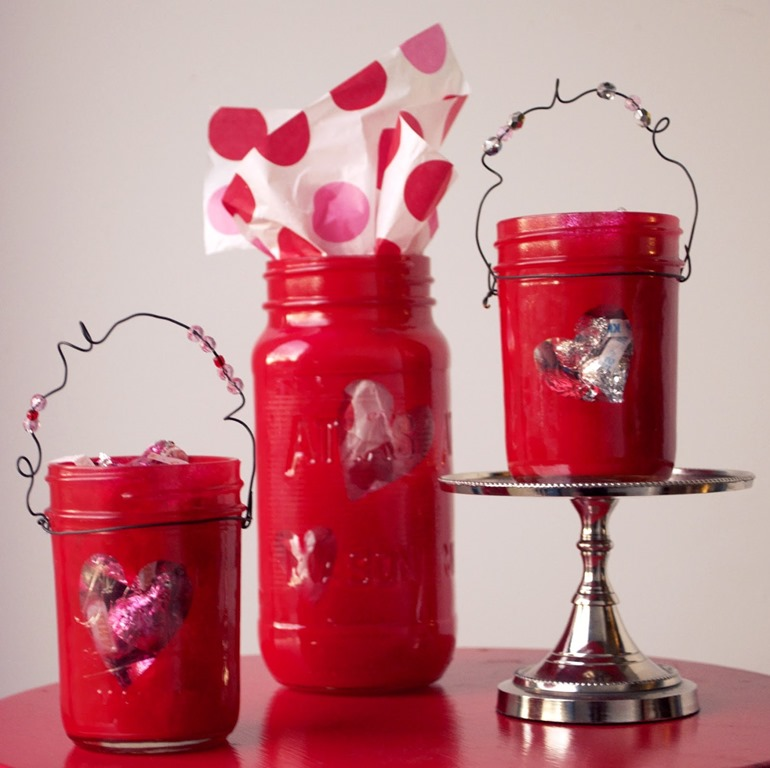 Heart Jars Mason Jar Crafts Love