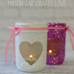 mason jar craft for valetine's day