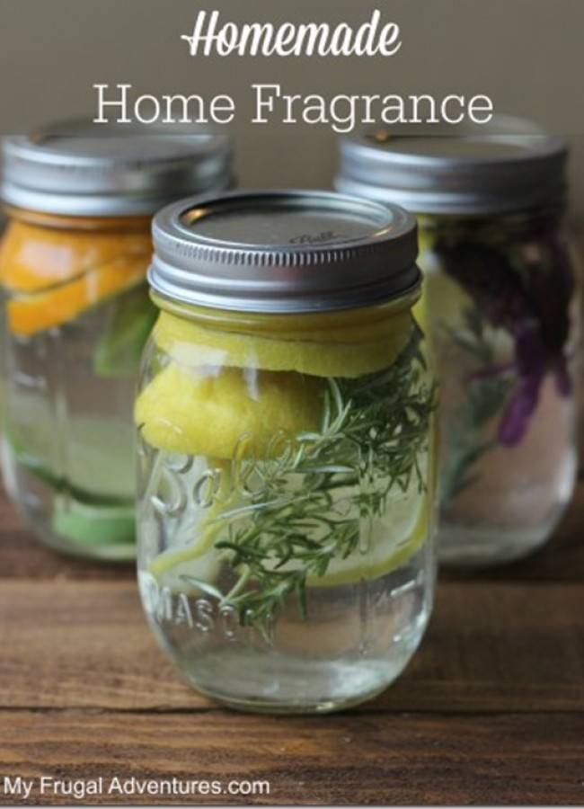 natural home fragrance ideas using fruit and herbs