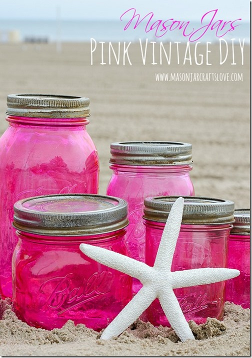 Pink-Mason-Jars-DIY-with-Mod-Podge-and-Food-Coloring-5