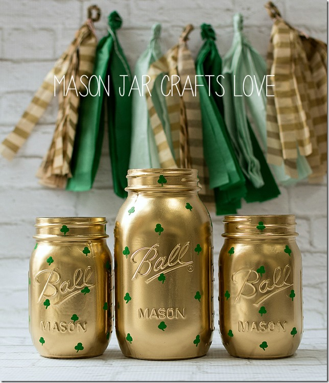 shamrock-mason-jars-st-pats-day-decor 2