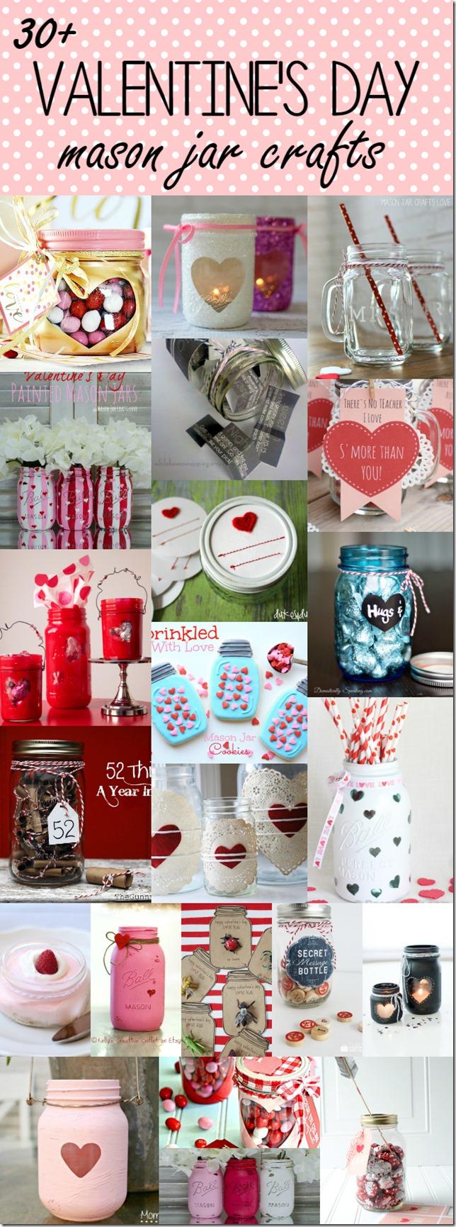 Conversation Hearts Mason Jars Mason Jar Crafts Love