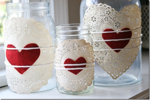 valentine-mason-jar-doilies and heart at crescendo