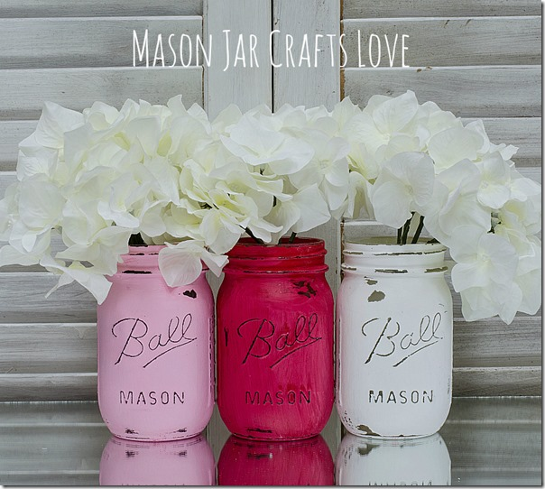 valentines-mason-jars-red-pink-white-painted-distressed