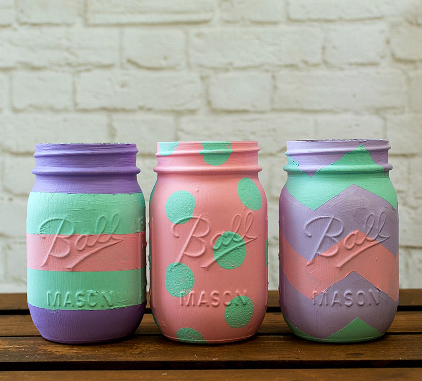 Easter Egg Mason Jars Mason Jar Crafts Love