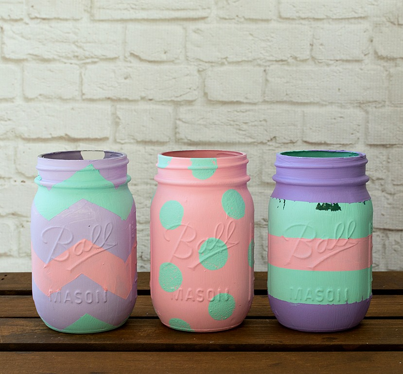 Easter Egg Craft Mason Jar 17 Of