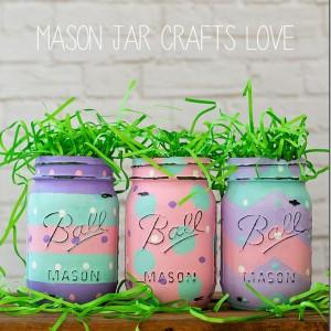 mason jar craft for Easter