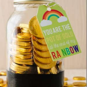 Pot O Gold Mason Jar