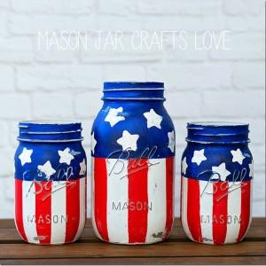 american-flag-mason-jars