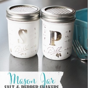 Salt & Pepper Mason Jars