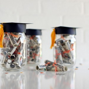 Mason Jar Craft Ideas for Graduation Gifts