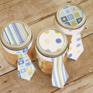 Father's Day Gift Idea: Mason Jar Craft