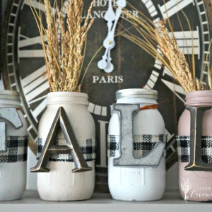 Mason Jar Crafts for Fall