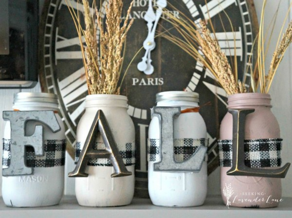 Mason Jar Crafts for Fall