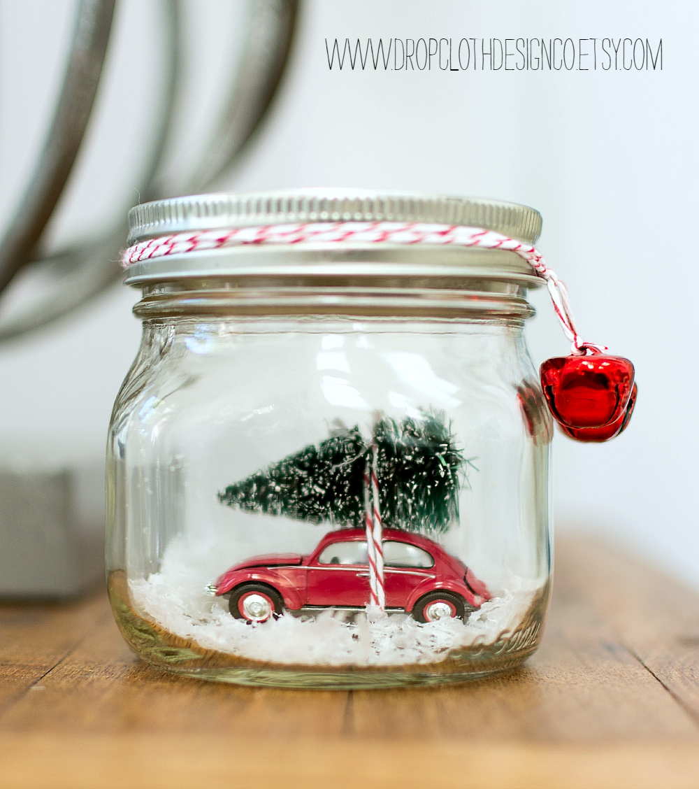 Crafts With Mason Jars Car In Jar Snow Globe Mason Jar Crafts Love
