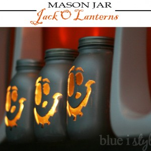 Mason Jar Crafts: Mason Jar Halloween Craft Idea