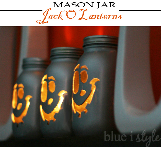 Mason Jar Crafts: Mason Jar Halloween Craft Idea