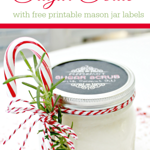 Sugar Scrub Recipe Gift Idea