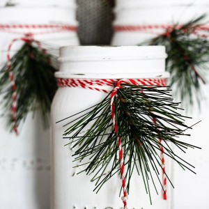 Christmas Craft Ideas with Mason Jars