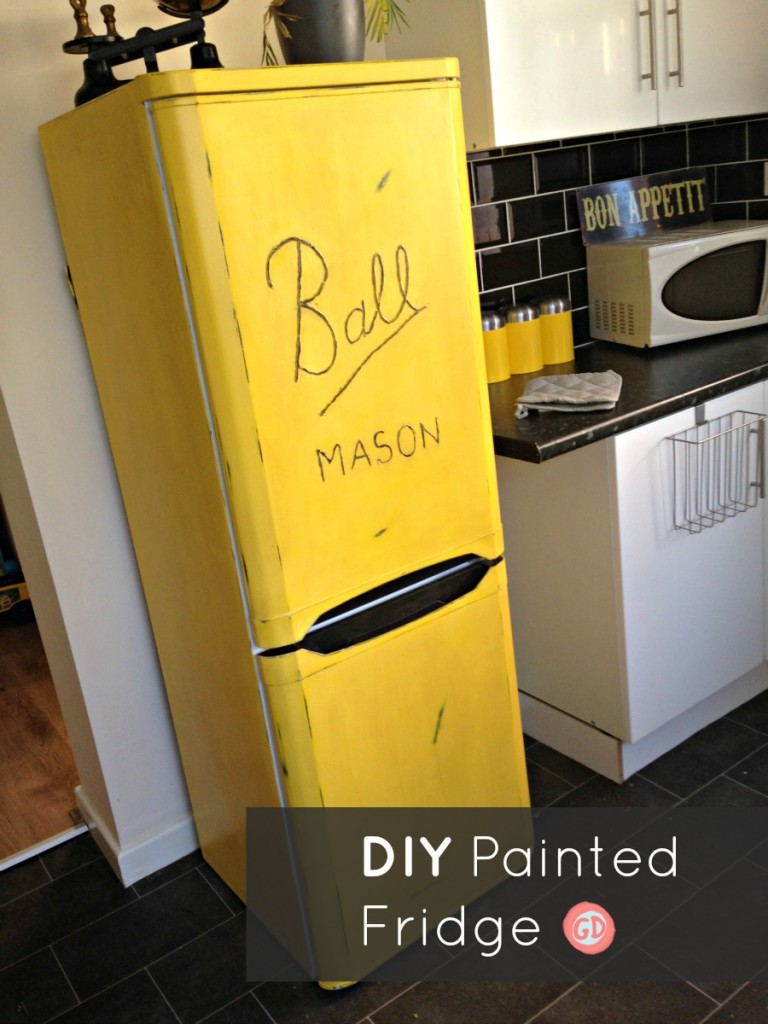 How To Paint Refrigerator