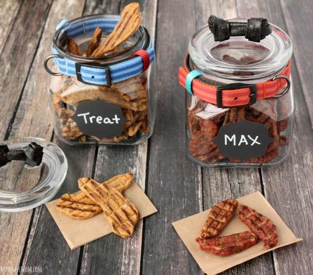 Dog Treat Jar DIY - Mason Jar Dog Treat Jars