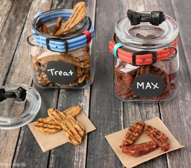 Mason Jar Craft Ideas: Dog Treat Jars