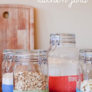 Custom Kitchen Jars