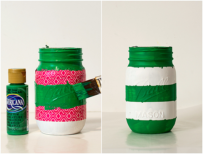 Football Field Mason Jar