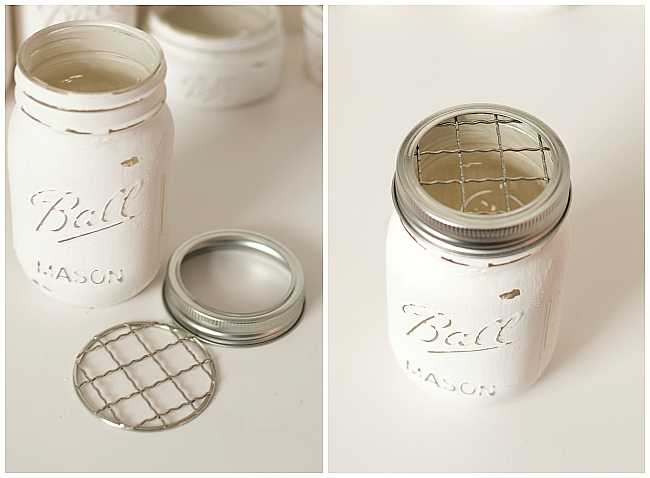 Mason Jar Crafts Ideas for Bathroom Storage