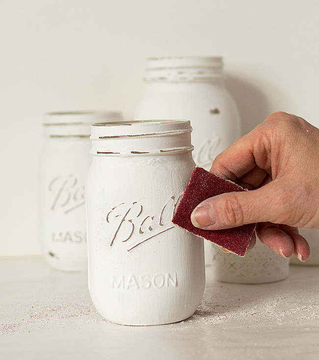 mason-jar-crafts-painted-distressed-bathroom-organizer-soap-dispenser-toothbrush-holder (6 of 11)