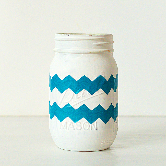 Mason Jar Easter Egg Craft Idea