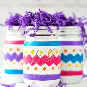Easter Egg Mason Jar Craft