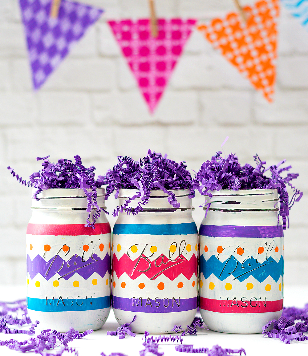 Mason Jar Easter Craft Ideas