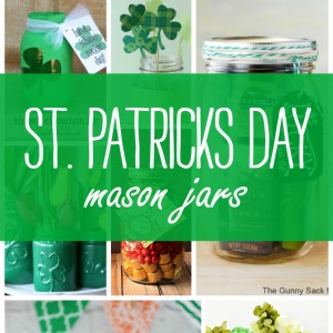 St. Patrick's Day Craft, Recipe, Gift Ideas in Mason Jars