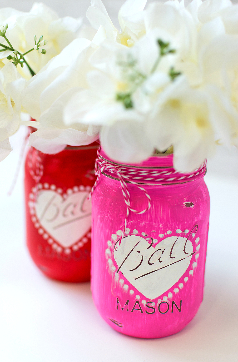 Heart Jar Craft Mason Jar Crafts Love
