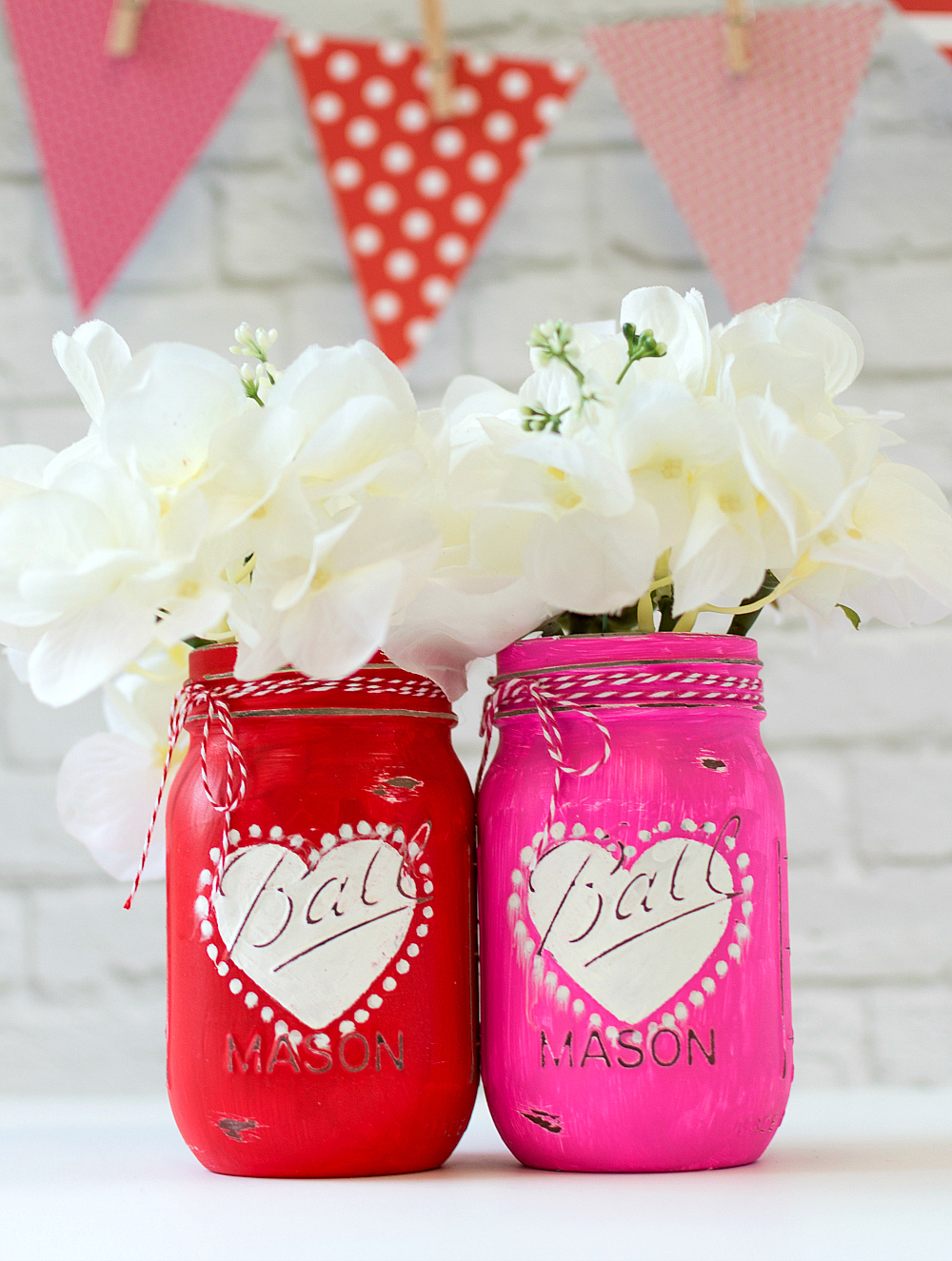 Mason Jar Craft for Valentine Day