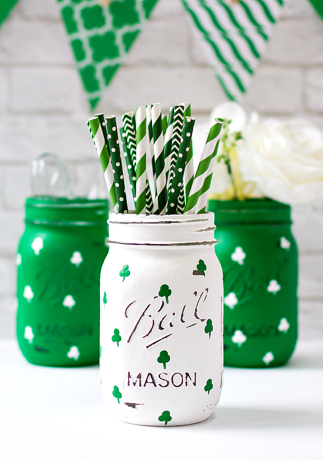 Painted Mason Jar Crafts
