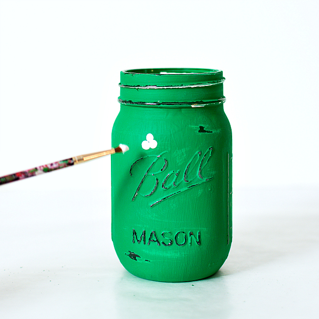 Clover Mason Jar