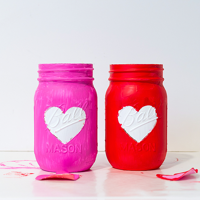Jar Craft Ideas - Valentine Day Craft