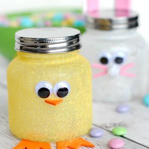 Easter Craft Ideas with Mason jars