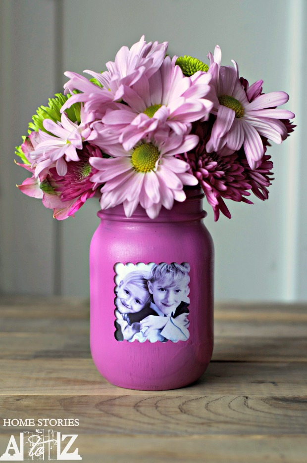 Mother\'s Day Mason Jar Gift - Mason Jar Crafts Love