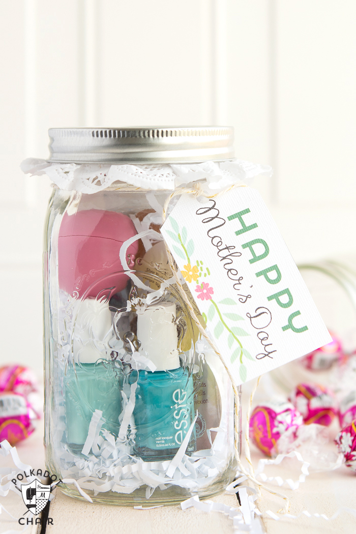 Mother's Day Mason Jar Gift - Spa in a Jar