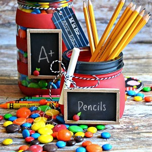 Teacher Gift Ideas with Mason Jars