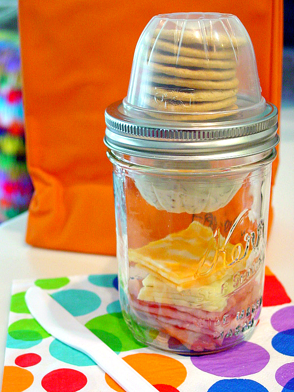 Mason Jar Lunchables