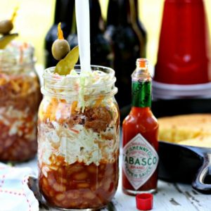 Mason Jar Recipe Ideas - Barbecue Recipe in Mason Jar
