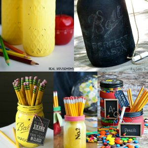 Back To School Crafts with Mason Jars