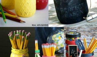 Back-To-School Mason Jars