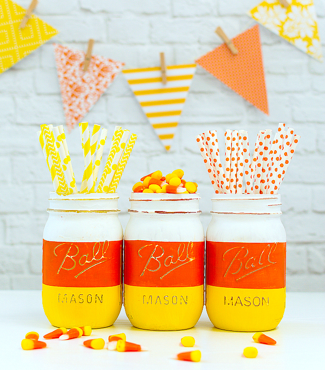 Halloween Mason Jar Crafts